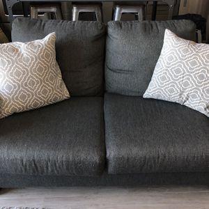 Gray Loveseat for Sale in Denver, CO