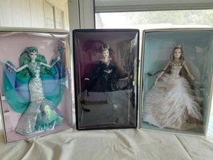 Gold label Barbies for Sale in San Antonio, TX