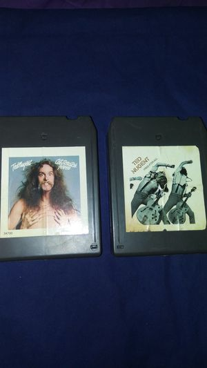 2ea very rare Ted Nuget both 8 track tapes for Sale in Commerce, CA