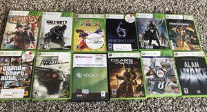 XBox 360 games for Sale in Everett, WA