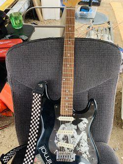 Electric black guitar! for Sale in Murrieta,  CA