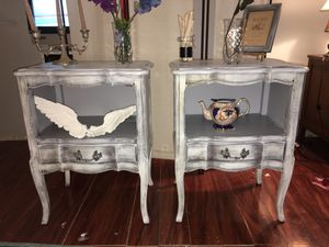 2 shabby chic night stands for Sale in FL, US