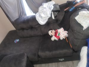 Couches brand new didnt really use them at all so there like new for Sale in Downey, CA