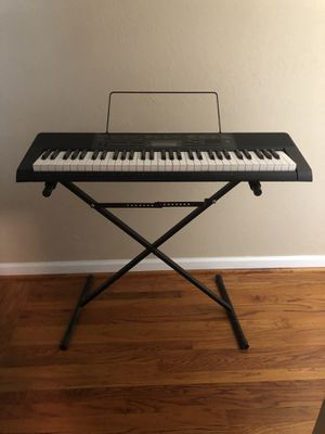 Electric Keyboard with Stand for Sale in Sacramento, CA