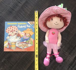 Strawberry Shortcake Doll and Vintage Cooking Book just $5 for Sale in Port St. Lucie, FL