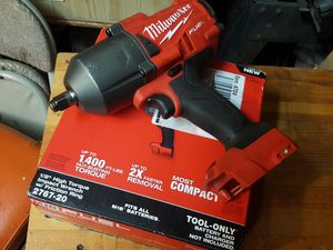 Milwaukee 1/2 high-torque impact wrench 1400ft-lbs torque for Sale in Lacey, WA
