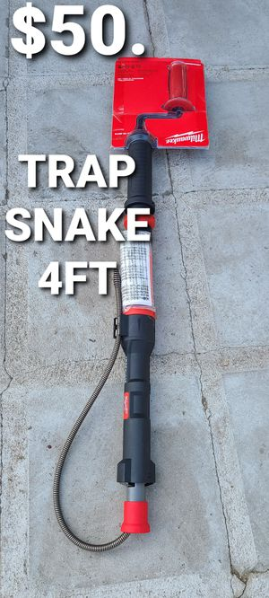 Milwaukee trap snake 4ft for Sale in Fontana, CA