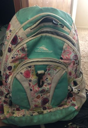 High Sierra backpack for Sale in Atwater, CA