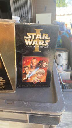 Películas Star Wars vhs for Sale in El Paso,  TX