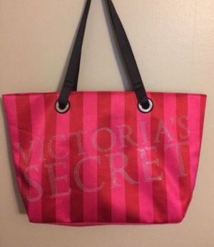 Victoria secret large tote carry weekend bag purse carry on luggage trip for Sale in Wrightsville, PA