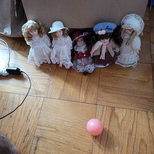Mini Porcelain Doll Collection for Sale in Silver Spring, MD