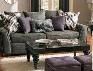 Grey sofa for Sale in Grosse Pointe Park, MI