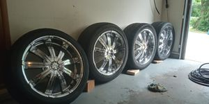 "22"" Rims (Reduced Price) for Sale in Independence, MO"
