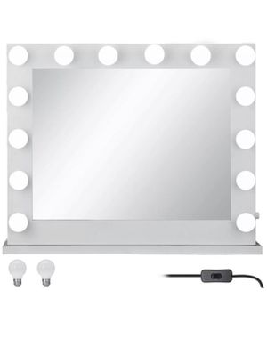 Hollywood Makeup Vanity Mirror Lighted Mirror Dimmer White+FREE LED Bulbs for Sale in Orlando, FL