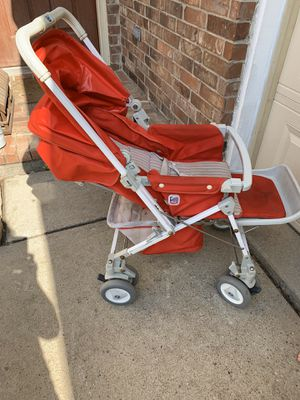 BABY STROLLER, Peg Perego; This stroller is not perfect, VIEW ALL PICTURES, but it works good & what I love most about it is a baby can lay back & ta for Sale in Richardson, TX