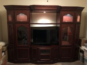 Cherry Entertainment Center for Sale in Palm Bay, FL