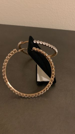 Diamond studded Earrings for Sale in Las Vegas, NV