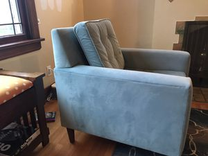 2 Tiffany Blue Accent Chairs for Sale in Seattle, WA