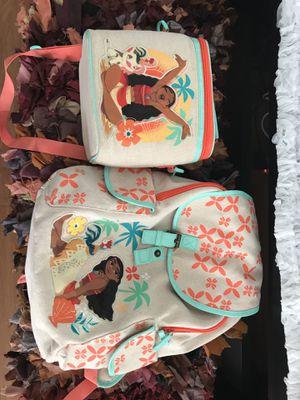 Disney Moana lunch and school bags for Sale in Hampton, VA