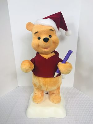 Vintage 1996 Telco Disney's Winnie the Pooh Animated Christmas Display for Sale in Pawtucket, RI