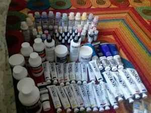 Large art supplies bundle for Sale in Chicago, IL