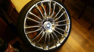 "Universal big body chrome 22"" Rim's for Sale in Lewisville, TX"