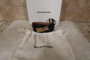 Distressed Leather Balenciaga Bracelet for Sale in Birmingham, MI