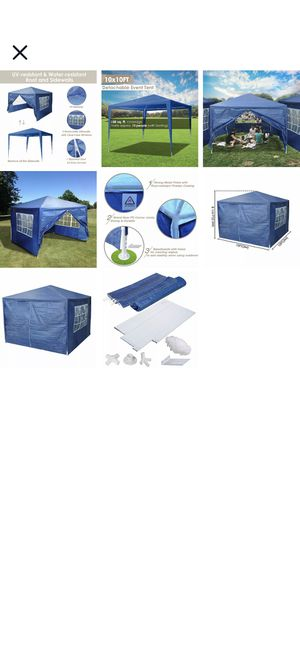 10 x 10 Party tent/canopy for Sale in Plano, TX