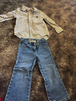 Toddlers boys 3t shirt and pants for Sale in Excelsior Springs, MO