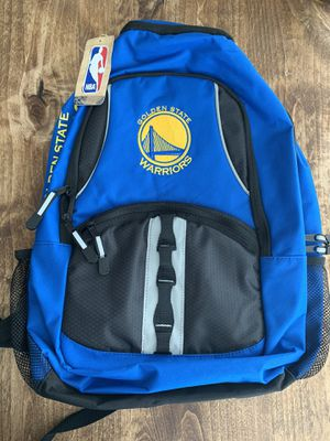 Golden State Warriors backpack NWT for Sale in Laguna Niguel, CA