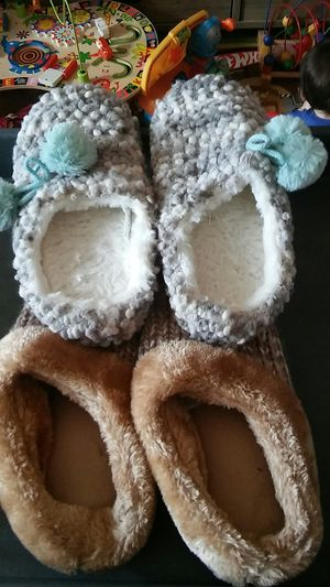Slippers size 11-12 and 7-8 for Sale in Sterling, VA