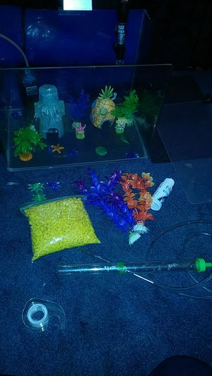 10 Gallon Fish Tank/Heater/Filter for Sale in Pittsburgh, PA