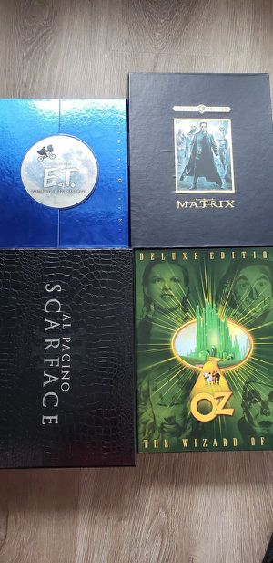 DVD Collector's Gift sets of E.T., The Matrix, Scarface. And Wizard of Oz for Sale in Orlando, FL