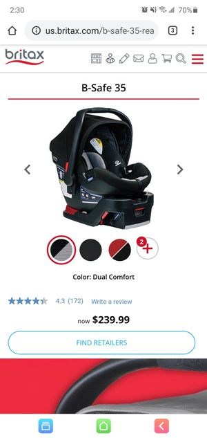 Britax B-Safe 35 car seat with 2 bases for Sale in El Centro, CA