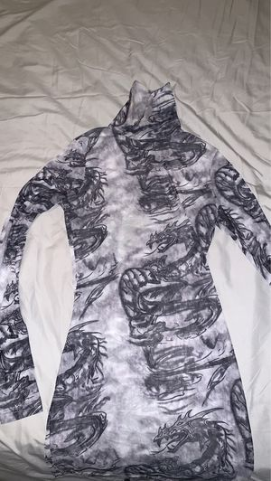 Fashion nova dragon mesh dress for Sale in Phoenix, AZ