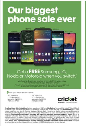 The biggest phone sale in history !!! for Sale in Memphis, TN