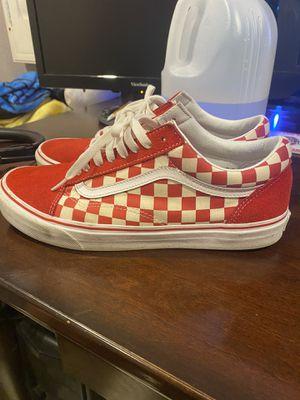 Red Checkerboard Vans for Sale in Bermuda Dunes, CA