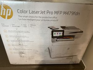 HP color laser jet pro MFP M479DN for Sale in Dallas, TX