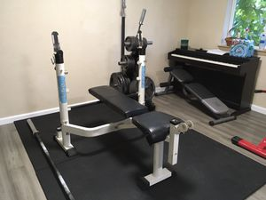 Folding Fitness Weight Bench Adjustable Lifting for Sale in Bothell, WA