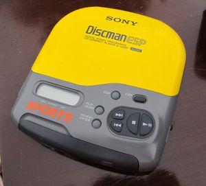 Sony Discman ESP- Sports, Sony SRS-T1 Active speaker system, CaseLogic Pouch for Sale in Dearborn, MI