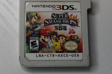 Súper Smash Bros for Nintendo 3Ds Authentic for Sale in Massapequa,  NY