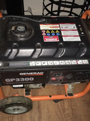 Generac gp3300 generator for Sale in Lexington, NC