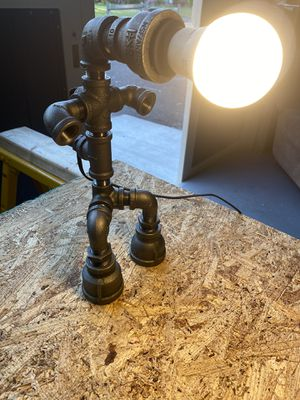 Industrial Pipe Lamp for Sale in Red Hill, PA