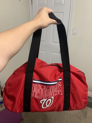 Washington Nationals Duffle Bag for Sale in Hyattsville, MD