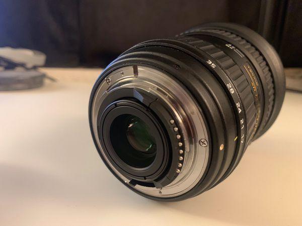 Tokina 17-35mm F/4 AT-X Pro FX Lens for Nikon Digital SLR Cameras