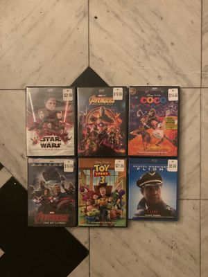 BRAND NEW SEALED DVD MOVIES for Sale in Los Angeles, CA