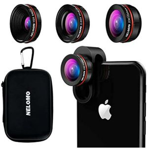 Universal Professional HD Camera Lens Kit for iPhone XR XS X/8/7Plus/7/6sPlus/6s, Samsung S8+/S8 and Other Cellphones for Sale in Rancho Cucamonga, CA