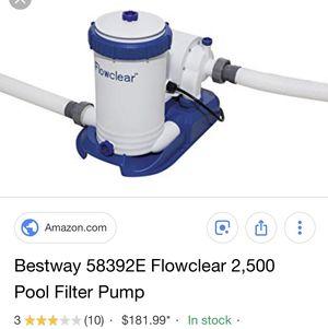Pool filter new in box for Sale in Fresno, CA