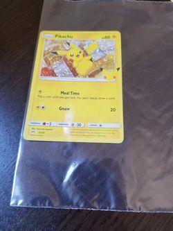 Pikachu Pokemon Card for Sale in Los Angeles,  CA
