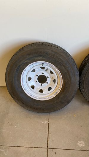 2x hiway trooper trailer tires . LT235/85R16 for Sale in Hesperia, CA